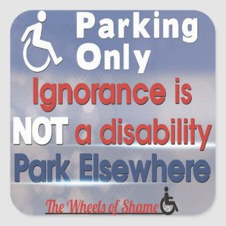 Ignorance is not a Disability Sticker