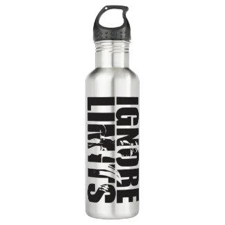 IGNORE LIMITS - Deadlift - Workout Motivational 710 Ml Water Bottle