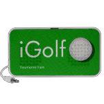iGolf Custom Speakers for the Golfer