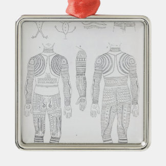 Igorrote tattooing christmas ornament