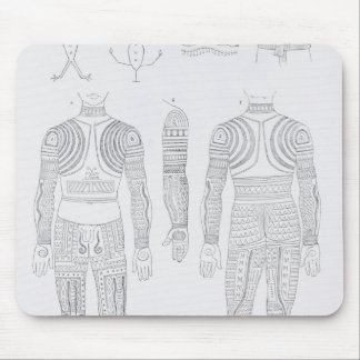 Igorrote tattooing mouse mat