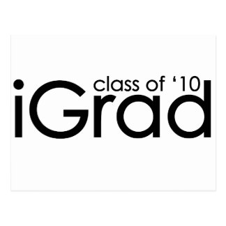 iGrad 2010 Graduate Postcard
