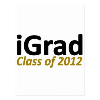 iGrad 2k12 Postcard