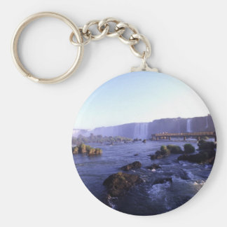 Iguacu Falls Brazil and Argentina Key Ring