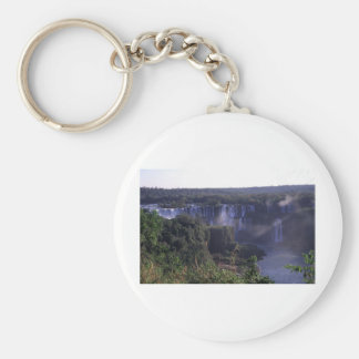 Iguacu Falls in Brazil and Argentina Key Ring