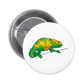 Iguana 6 Cm Round Badge