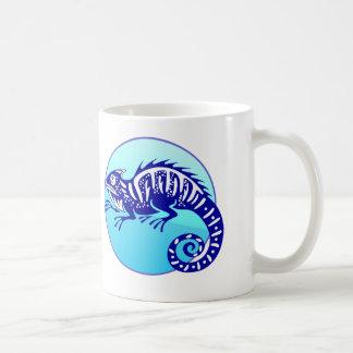 IGUANA BLUE CIRCLE PRODUCTS COFFEE MUG