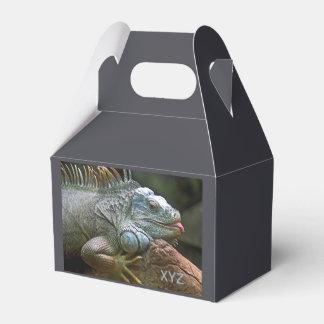 Iguana custom favor box