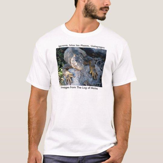 Iguana, Islas las Plazas, Galapagos T-Shirt