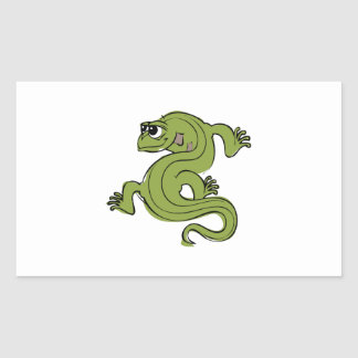 Iguana Rectangular Sticker