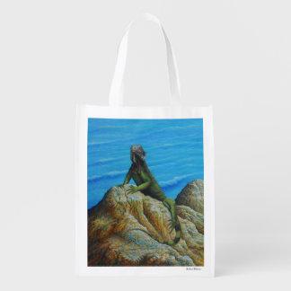 Iguana Reusable Grocery Bag