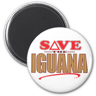 Iguana Save Magnet