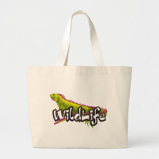 Iguana WildLife Jumbo Tote Bag