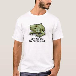 Iguanas ate my Homework T-Shirt