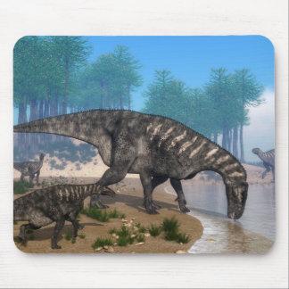 Iguanodon dinosaurs mouse pad