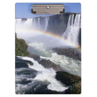 Iguassu Falls, Parana State, Brazil. Aerial view Clipboard
