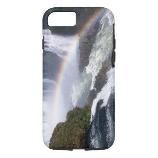 Iguassu Falls, Parana State, Brazil. Aerial view iPhone 8/7 Case