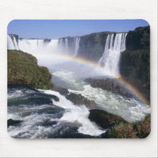 Iguassu Falls, Parana State, Brazil. Aerial view Mouse Mat