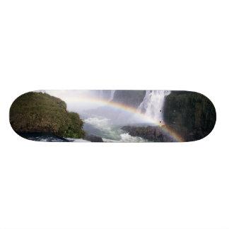 Iguassu Falls, Parana State, Brazil. Aerial view Skateboard Decks