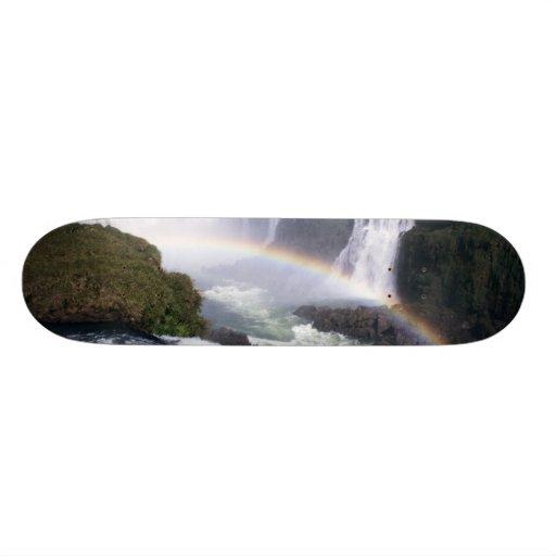 Iguassu Falls, Parana State, Brazil. Aerial view Skate Board Decks