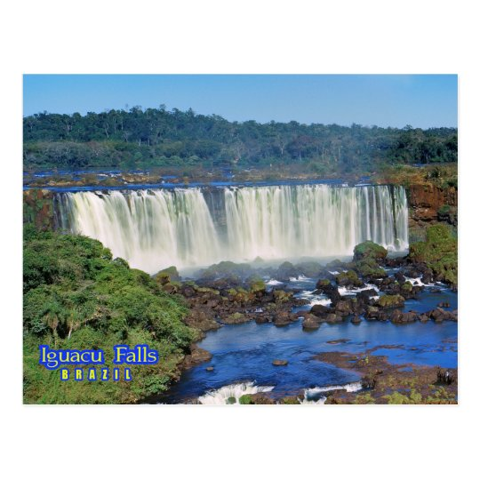 Iguasu falls, Brazil Postcard
