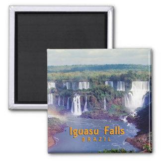Iguasu Falls Square Magnet