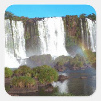Iguazu Falls 2 Square Sticker
