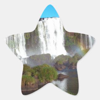 Iguazu Falls 2 Star Sticker