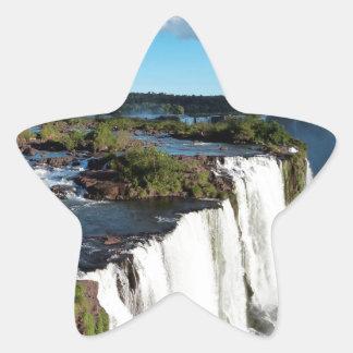 Iguazu Falls 3 Star Sticker