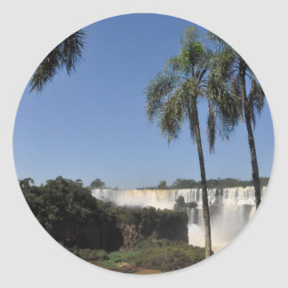 Iguazu Falls 6 Round Sticker