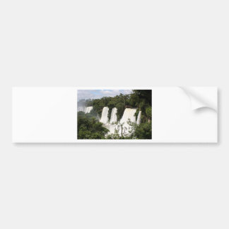 Iguazu Falls, Argentina, South America Bumper Sticker