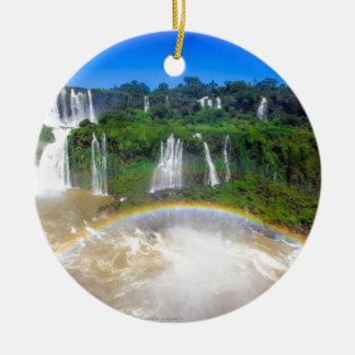 iguazu-falls-brazil-Angie.JPG Christmas Ornament