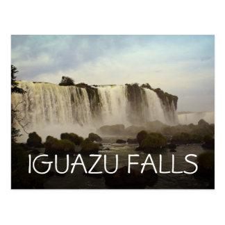Iguazu Falls Postcard