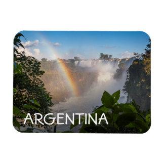 Iguazú Waterfalls With Rainbow, Argentina Magnet