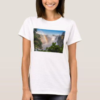 Iguazú Waterfalls With Rainbow, Argentina T-Shirt