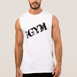 iGym Men's Ultra Cotton Sleeveless T-Shirt