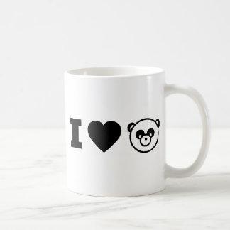 IHEARTPANDA COFFEE MUG