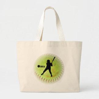 iHit Fastpitch Softball Jumbo Tote Bag