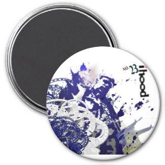 ihood no.23 7.5 cm round magnet