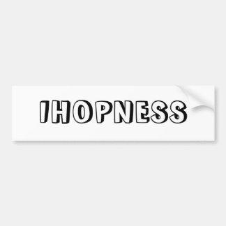 IHOPNESS BUMPER STICKER