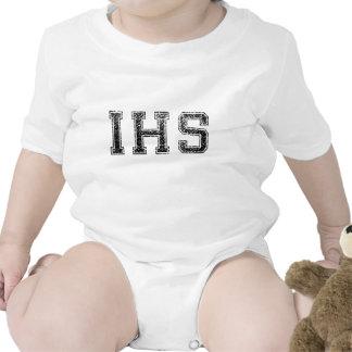 IHS High School - Vintage Distressed Tee Shirt