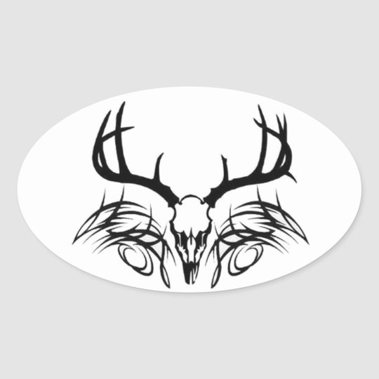 iHUNT Oval Sticker