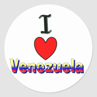 iI Love Venezuela Sticker
