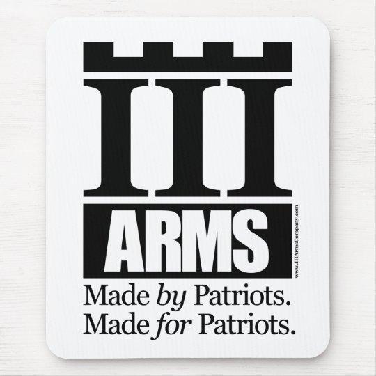 III Arms mousepad - vertical