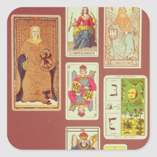 III The Empress Square Sticker