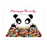 "Ijimekko Panda ""Missing You"" Post Cards"