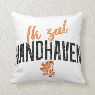 Ik Zal Handhaven Cushion, Dutch Motto Cushion