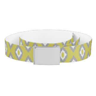 Ikat vintage pattern belt