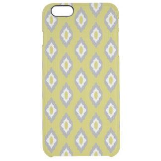 Ikat vintage pattern clear iPhone 6 plus case