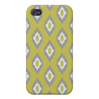 Ikat vintage pattern iPhone 4/4S cover